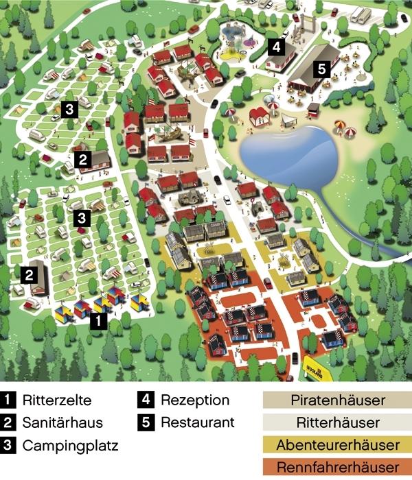 Legoland Feriendorf Campingplatz In G 252 Nzburg Germany